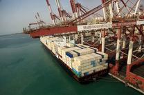 افزایش ۱۵ درصدی صادرات کالاهای غیر نفتی در بندر شهید رجایی