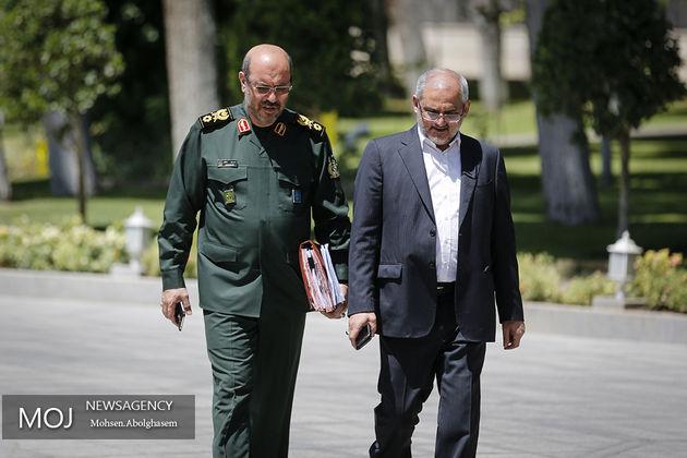تبریک سردار دهقان به هاشمی شاهرودی و رضایی