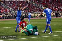 دیدار تیم های فوتبال پرسپولیس ایران و الریان قطر (2)