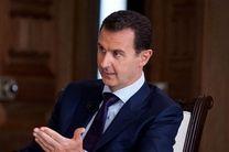 تبریک سران 10 کشور به بشار اسد