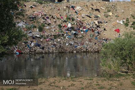 آلودگی زیست محیطی در رودخانه قره سو کرمانشاه
