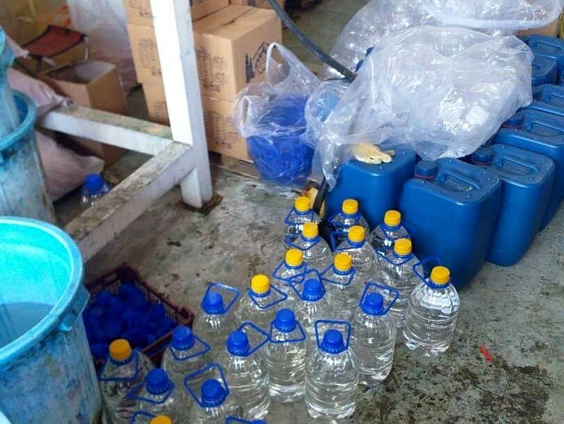155 هزار لیتر الکل احتکار شده در البرز کشف شد
