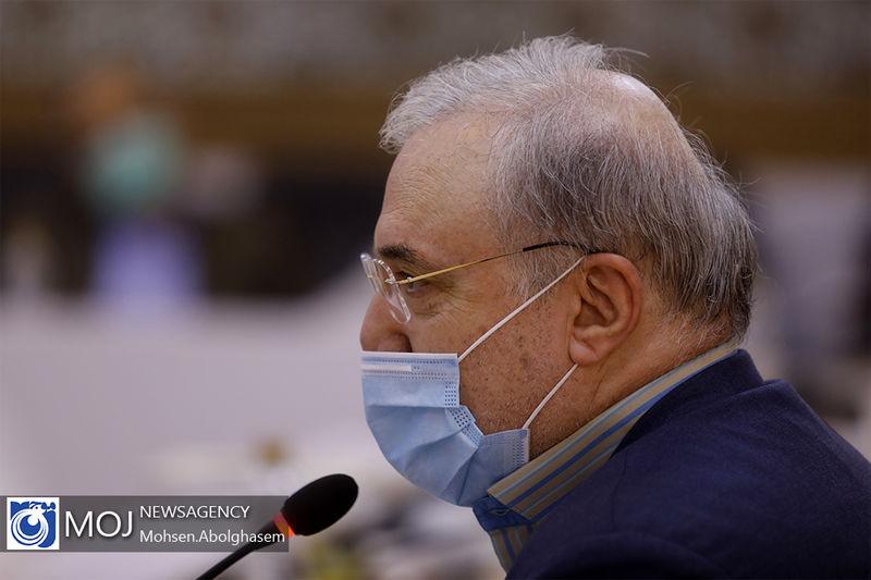 درخواست نمکی از سازمان جهانی بهداشت جهت لغو تحریم های آمریکا