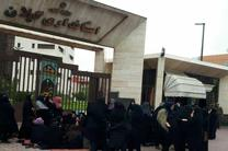 تجمع ۲۰۰مربی پیش دبستانی حق تدریس مقابل استانداری گیلان