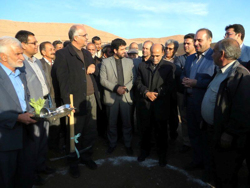 عملیات گازرسانی به روستای چوپانان در نایین آغاز شد