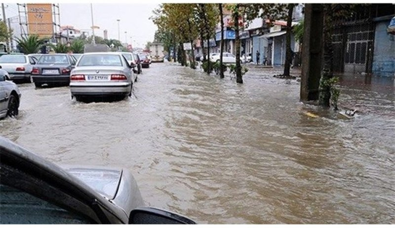 افزایش 4 برابری بارش باران در خوانسار / جاری شدن سیل در ۱۲ روستا