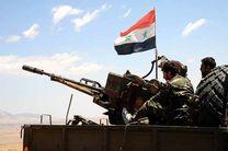 حمله ارتش سوریه به حماه