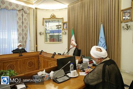 نشست اعضای کمیسیون قضایی و حقوقی مجلس با رییس قوه قضاییه