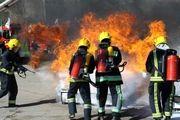 851 عملیات اطفاء حریق در محدوده خدماتی شهر همدان