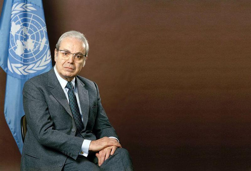 Former UN chief Javier Perez de Cuellar passed away