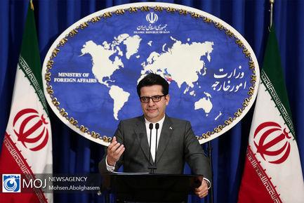 نشست خبری سخنگوی وزارت امورخارجه - ۱۹ آبان ۱۳۹۸