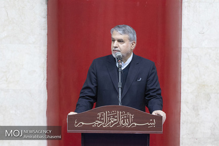 تشییع پیکر محمد مهر آیین/رضا صالحی امیری رییس کمیته ملی المپیک
