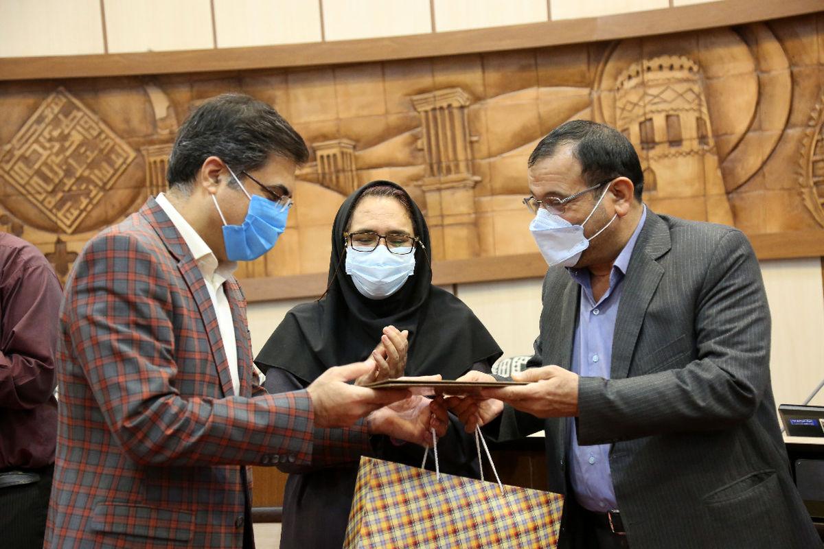 تجلیل از عملکرد سازمان فرهنگی اجتماعی ورزشی شهرداری یزد
