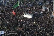 تشییع پیکر سپهبد شهید قاسم سلیمانی در تهران (۳)