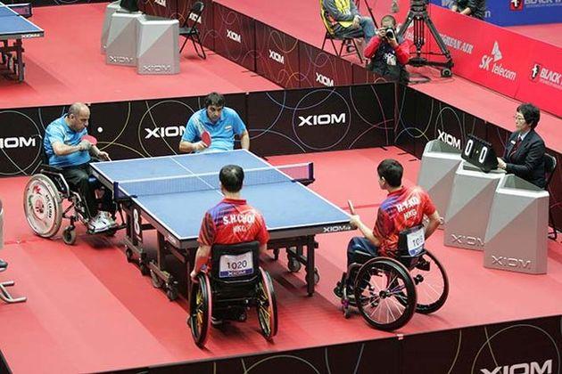 تیم ملی تنیس روی میز معلولان فردا عازم چین میشود