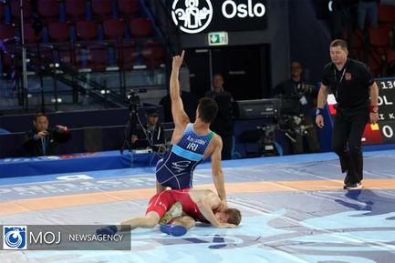 رقابت های چهار وزن دوم کشتی آزاد قهرمانی جهان در نروژ