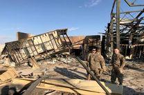 تجلیل ارتش آمریکا از آسیب دیدگان حمله موشکی ایران به عین الاسد