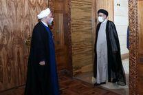 رئیس جمهور منتخب با روحانی دیدار کرد