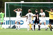 شکست تیم مکانی در هفته شانزدهم لیگ دسته دوم نروژ