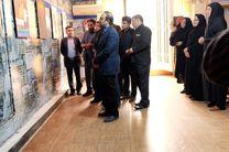 گشایش نمایشگاه عکس و گرافیک دفاع مقدس در یاسوج