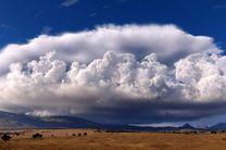 وقوع رگبار پراکنده باران و رشد ابر در ارتفاعات هرمزگان