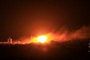 حمله شبانه جنگنده های رژیم صهیونیستی به نوار غزه