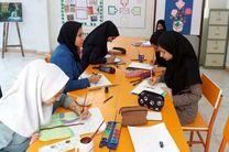 دانش آموزان دهاقانی از کارگاههای مهارتی مرکزآموزش فنی و حرفه ای بازدید کردند