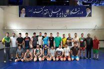 تیم کشتی فرنگی اردبیل راهی تهران شد