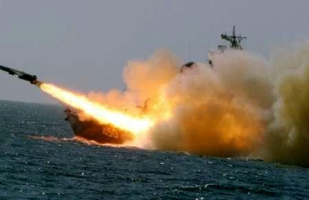رزمایش موشکی روسیه در سواحل سوریه