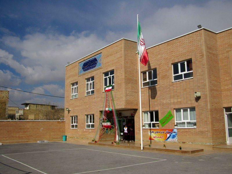 اولین مدرسه خیر ساز در اصغرآباد خمینی شهر افتتاح شد