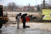 رانش زمین بازگشایی راه های روستاهای سیل زده را مشکل کرد