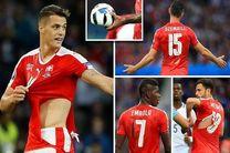 عذر خواهی شرکت پوما از تیم ملی سوئیس