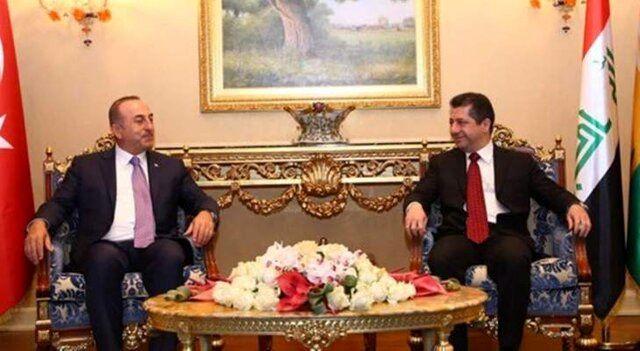 وزیر خارجه ترکیه با مسرور بارزانی دیدار کرد