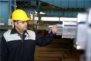 تولید محصول جدید تیرآهن نیمه سبک بال در شرکت ذوب آهن