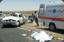 یک کشته در اثر واژگونی یک سواری سمند در محور زفره