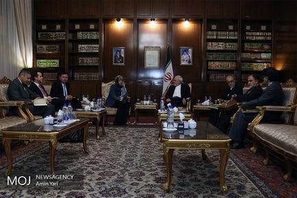 دیدار دبیرکل سرویس اقدام خارجی اتحادیه اروپایی با ظریف
