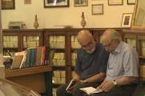 ۲ استاد زبان فارسی در قالب نمایش مستند