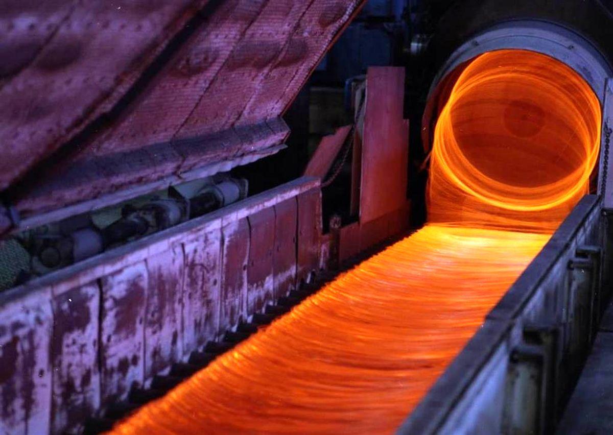 رکورد تولید ۲۵ ساله کلاف در ذوب آهن اصفهان، شکسته شد