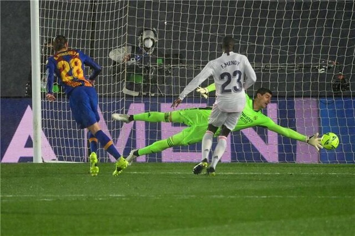 نتیجه بازی رئال مادرید و بارسلونا/ رئال مادرید پیروز الکلاسیکو شد