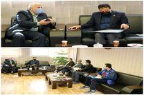 دیدار مدیرعامل باشگاه سپاهان با مدیر مخابرات اصفهان