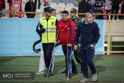 دیدار تیم های پرسپولیس تهران و ذوب آهن اصفهان