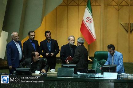 صحن علنی مجلس شورای اسلامی - ۲۱ خرداد ۱۳۹۸