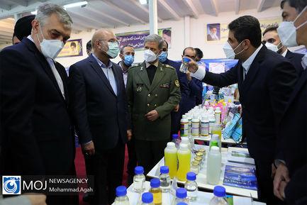 افتتاح نمایشگاه دستاوردهای وزارت دفاع در حوزه رزم زمینی
