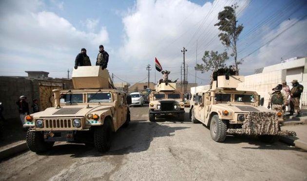 نیروهای عراقی وارد اولین محله از بخش غربی موصل شدند