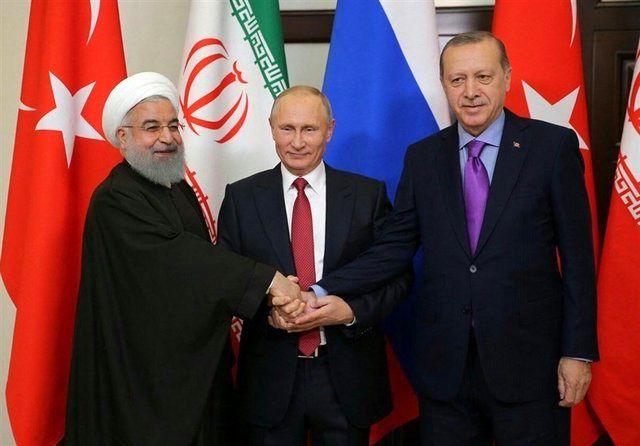 مکان و زمان برگزاری نشست سه جانبه سران ایران، روسیه و ترکیه اعلام شد