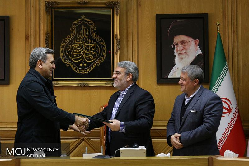 مراسم اعطای حکم شهردار جدید تهران برگزار شد