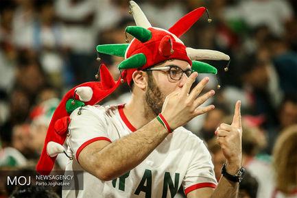 دیدار تیمهای ملی فوتبال ایران و چین