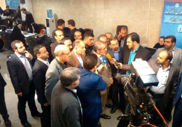 کدخدایی از ستاد انتخابات کشور بازدید کرد + عکس