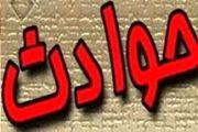 واژگونی 3 دستگاه کامیون در اثر لغزندگی  در بزرگراههای اصفهان