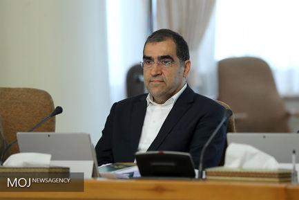 جلسه هیات دولت - ۲۱ شهریور ۱۳۹۷/حسن قاضی زاده هاشمی وزیر بهداشت